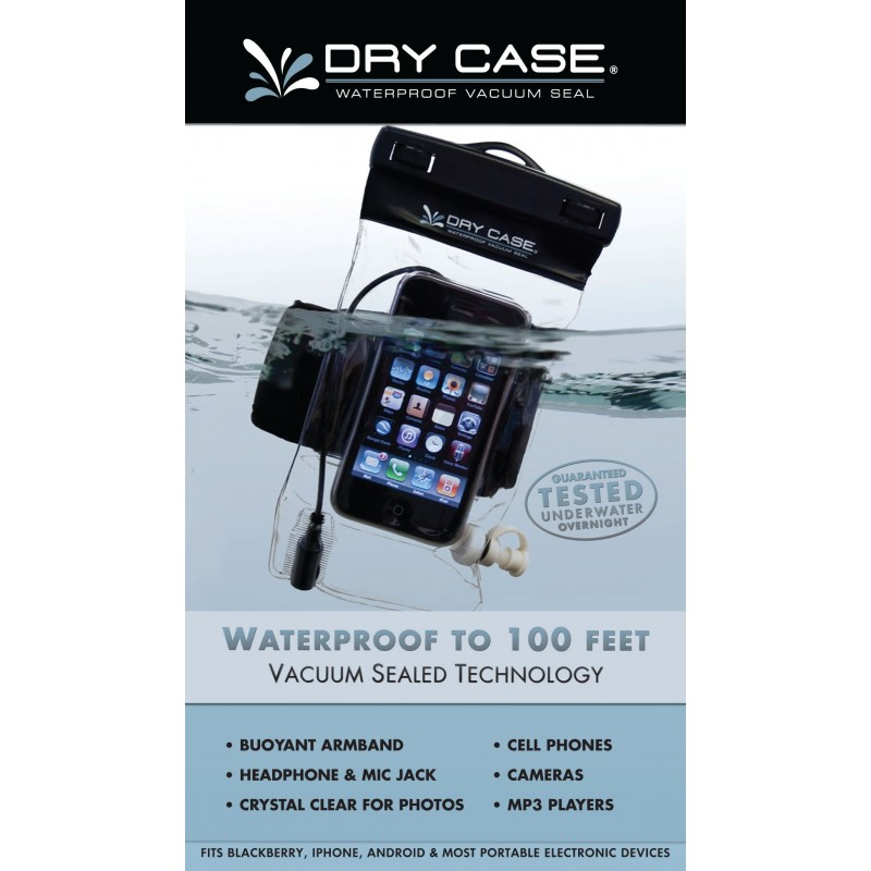 more photos 5ea97 37b54 Drycase Waterproof Phone, Camera and MP3 Player Case! Works up to 100ft