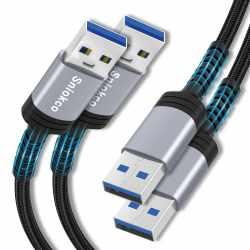 Sniokco 6Ft USB A to USB A...